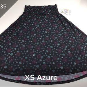 NWT LuLaRoe Azure Skirt -XS